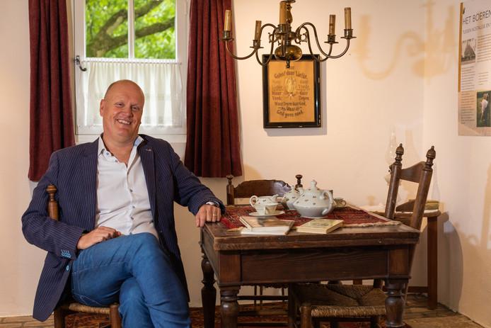 Hans Sonnemans is de nieuwe directeur van museum 't Oude Slot in Veldhoven.