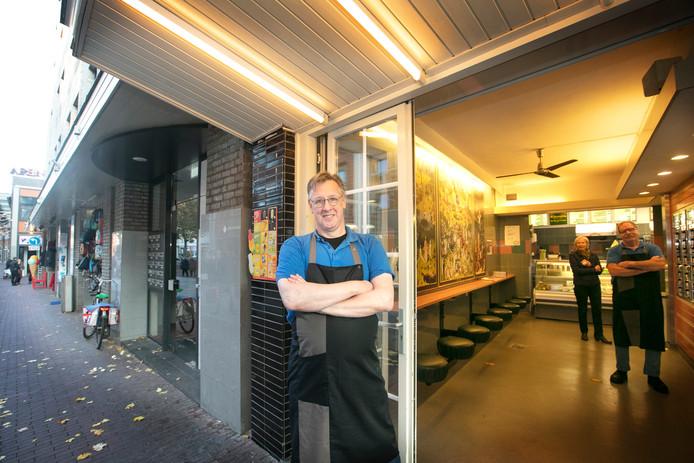 Snackbar de Boemerang met eigenaar Ed Trum