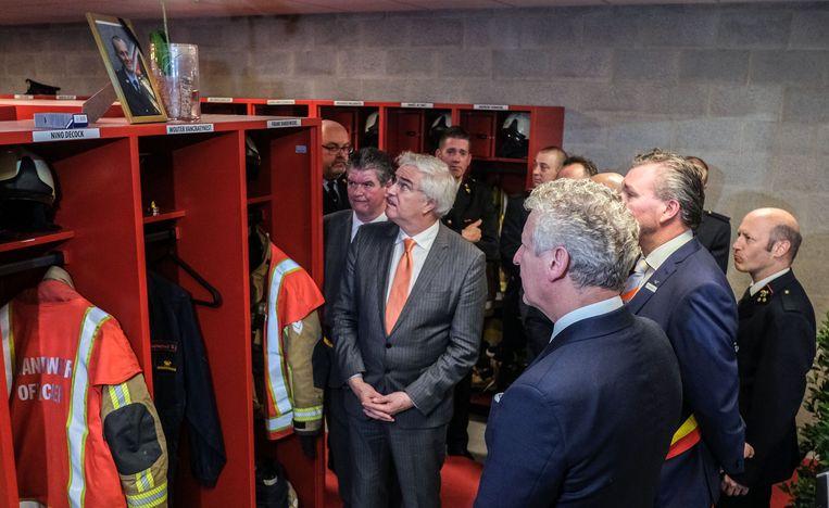 Wouter Vancraeynest, die in 2011 om het leven kwam toen hij werd aangereden tijdens een interventie voor een verkeersongeval, krijgt een ereplekje in de nieuwe kazerne. Zijn brandweeroutfit hangt er in een eigen kastje, tussen alle andere kastjes.