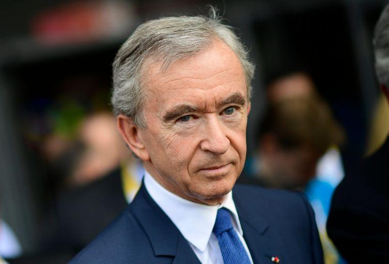 Het vermogen van de Franse zakenman Bernard Arnault steeg eerder naar meer dan 100 miljard dollar.