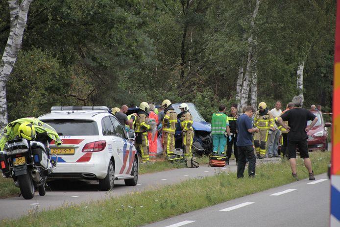 Het ongeluk vond plaats op de N302, nabij Ermelo.