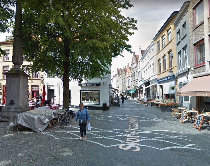 De Sint-Amandsstraat.