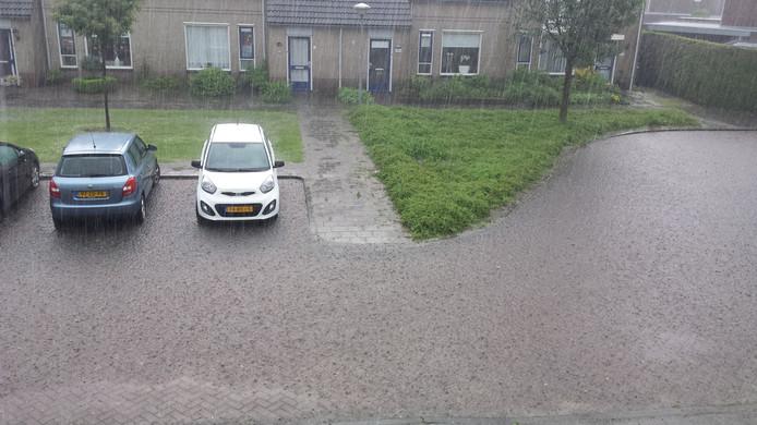 De Marter in Veldhoven staat blank