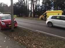Vijf auto's betrokken bij kettingbotsing Ermelo