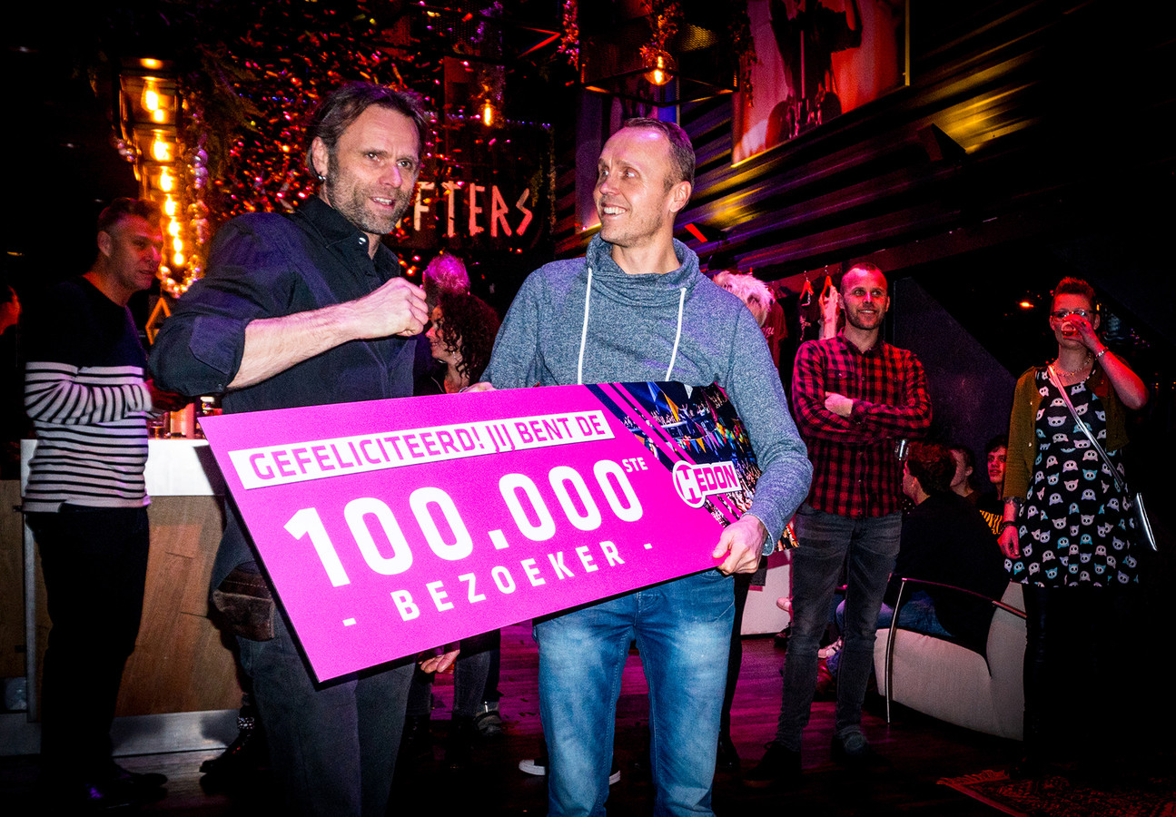 100.000e bezoeker Hedon Zwolle.