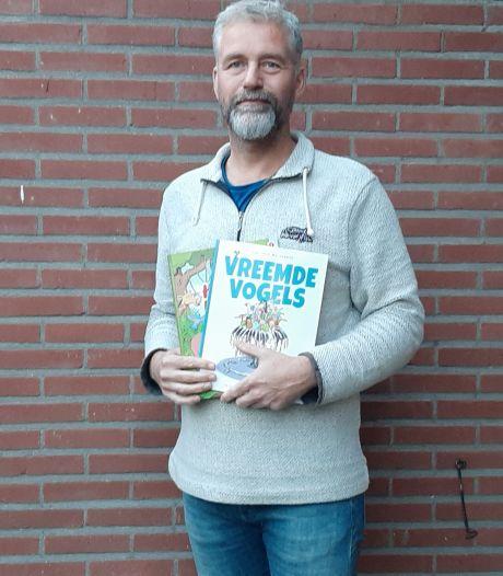 Stripfanaat Marc uit Epse laat boeken duurzaam drukken in Raalte: 'Ik voelde me steeds ongemakkelijker bij Oost-Europa'