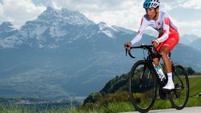 Colombiaans klimtalent Bernal toont zich in Romandië beste pijnlijder in zware klimtijdrit, Roglic behoudt leiderstrui