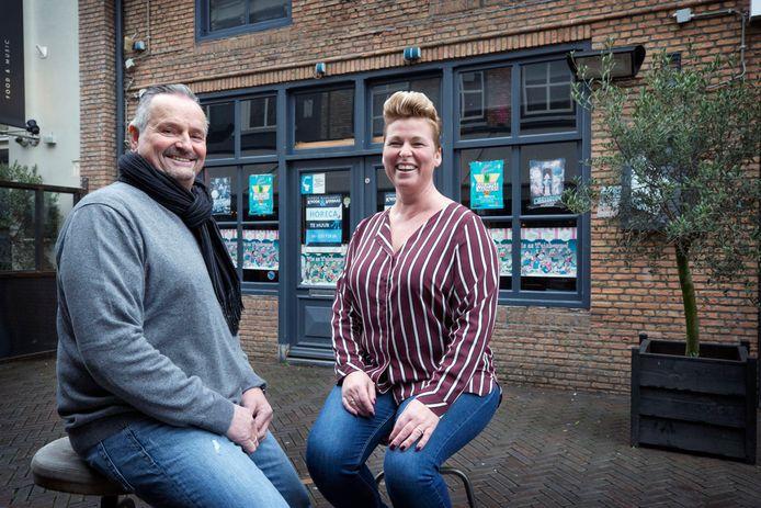 Jan en Inge Verweijmeren voor de zaak die over enkele weken van hun is.