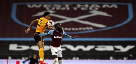Hoever debuteert bij Wolves met nederlaag tegen West Ham United