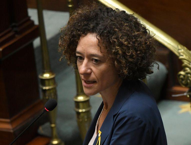 Sp.a-Kamerlid Yasmine Kherbache.