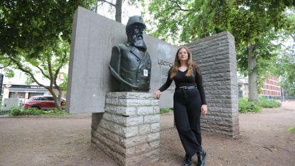 """Na de moord op George Floyd wil Hanne (19) Leopold II weg uit straatbeeld: """"Vijftig meter van de schoolpoort staat standbeeld van een massamoordenaar"""""""