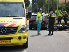 Motorrijder gewond na aanrijding met auto in Zundert