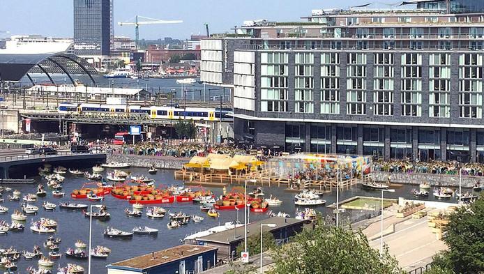 Amsterdam krijgt een floating market tijdens Sail