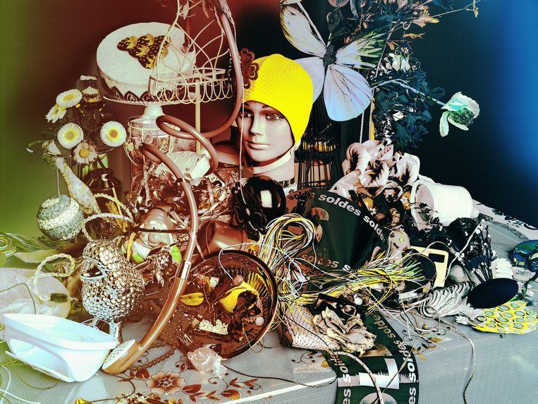 Een van de werken die te zien zijn op De Marseillaise, van Valéri Belin: Still Life with Dish, 2014 Beeld null