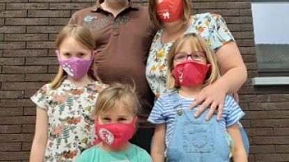 'Kleine Held' schenkt mondmaskers aan ouders van premature en zieke pasgeborenen