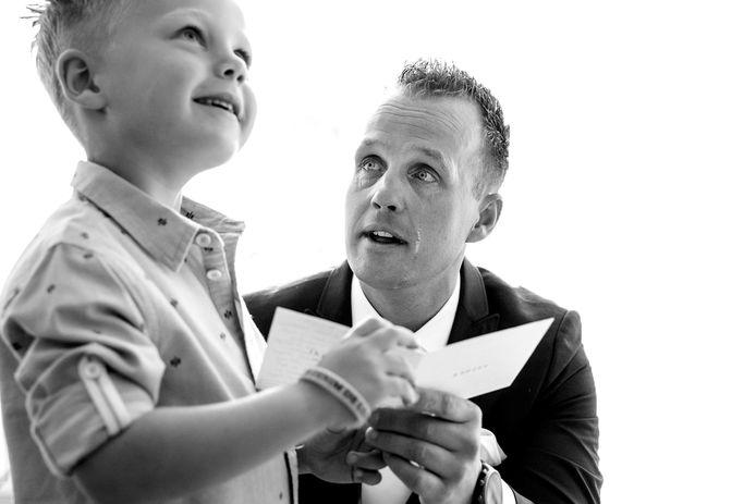 De foto die ervoor heeft gezorgd dat de Enschedese fotografe genomineerd is voor een Bruidsfoto Award.