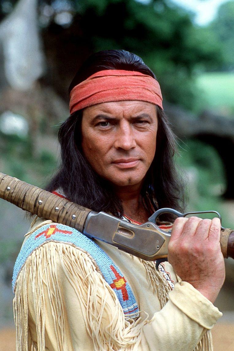 Pierre Brice als Winnetou in 1982.