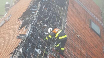 Gezin met drie kinderen dakloos na zware brand in pas gerenoveerde villa