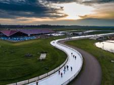 Flevonice in Biddinghuizen sluit langste kunstijsbaan ter wereld