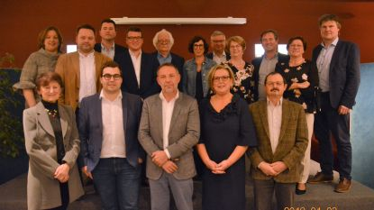 Mandatarissen Wortegem-Petegem beginnen aan nieuwe legislatuur