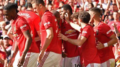 Tielemans (Leicester) kan nipte zege van Manchester United niet voorkomen, Praet blijft op de bank