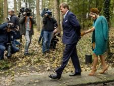 Hakken breken Máxima op in Twentse bossen