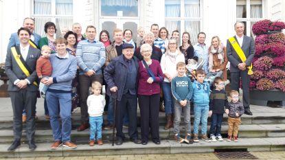 Familie Camerlinck viert diamanten huwelijksverjaardag in Sleidinge