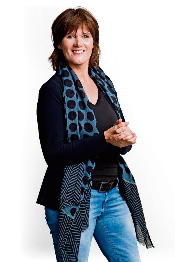Nederland,  Tilburg, columniste Annemarie Holthausen