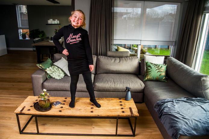 De Capelse Rosanne Huijsman heeft genoten van haar rol in de tv-serie De Luizenmoeder.
