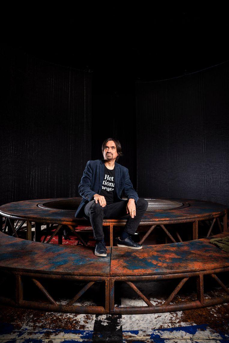Eric de Vroedt, artistiek leider van het Nationale Theater. Beeld Freek van den Bergh / de Volkskrant