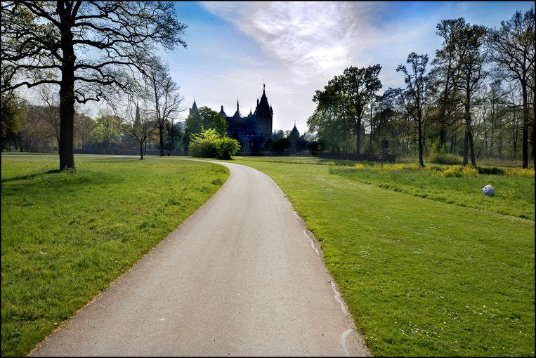 Kasteel de Haar in Haarzuilens (Utrecht), 15 april 2020. Beeld Werry Crone