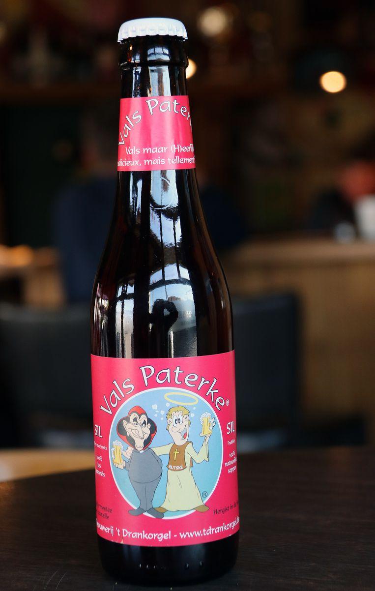 Het nieuwe bier van Vals Paterke.