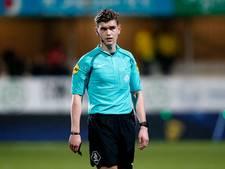 Arbiter Kooij fluit duel tussen FC Eindhoven en GA Eagles