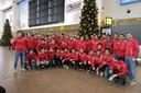Les Red Lions avant leur départ vers l'Australie