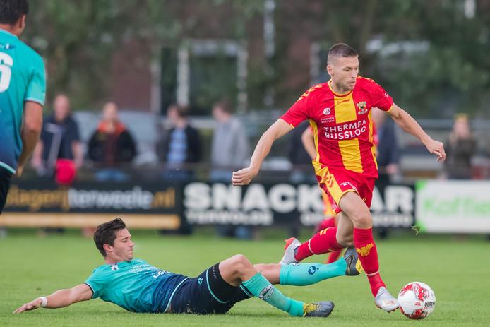 GA Eagles en Alexander Bannink speelden in de voorbereiding ook al tegen Excelsior en wonnen toen met 2-0 in Terwolde.
