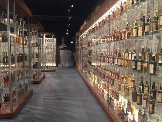 Kostbare whiskycollectie in Sassenheim.