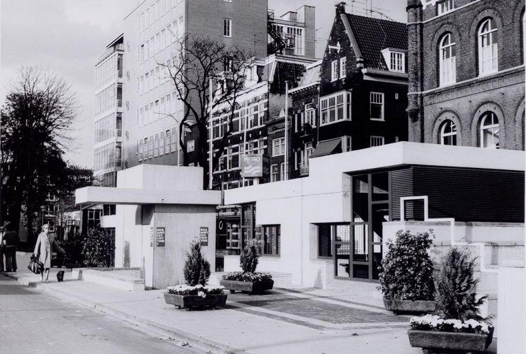 Weesperplein in 1977. Beeld Arsath Ro'is, J.M.