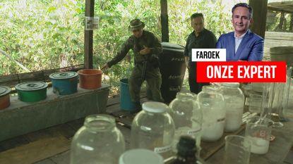 """Faroek trekt op onderzoek naar drugsgeweld: """"In Colombia staat op Europese kaart één rode vlek: Antwerpen"""""""