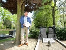 Wandelroute met tekstborden langs graven oorlogsslachtoffers Veenendaal
