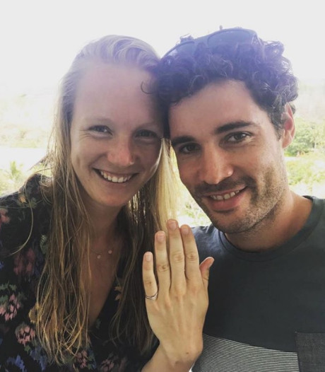 Kiki Bertens tijdens vakantie ten huwelijk gevraagd: 'I said yes'