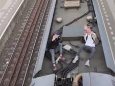 Veolia doet aangifte tegen vlogger op dak van trein