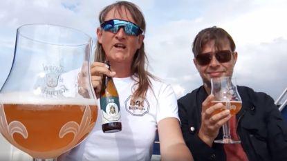 Op zeilboot 'gevangen' Antwerpse snakte naar Belgisch biertje, dus sturen Sterrebeekse brouwers haar MAK-biertjes op