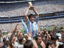 Ontroerende reacties op overlijden Maradona: 'Sint Diego, beschermheilige van het pingelen'