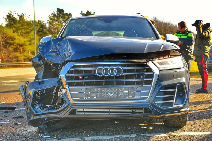 Vier voertuigen raakten beschadigd bij een ongeval bij Eersel.