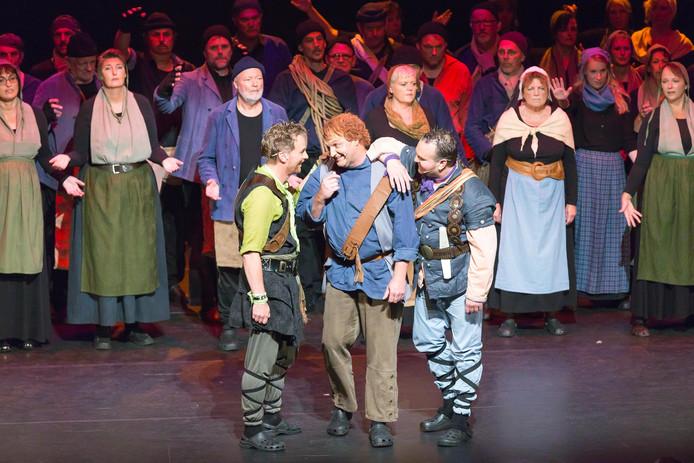 Fragment uit de musical Storm over Beulaeke.