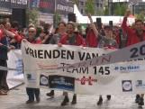 Teams Roparun finishen op de Binnenrotte