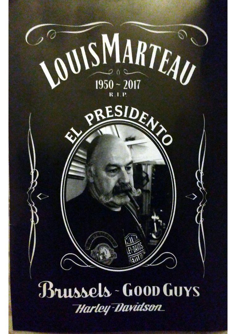 Het bidprentje van Louis Cappellen.