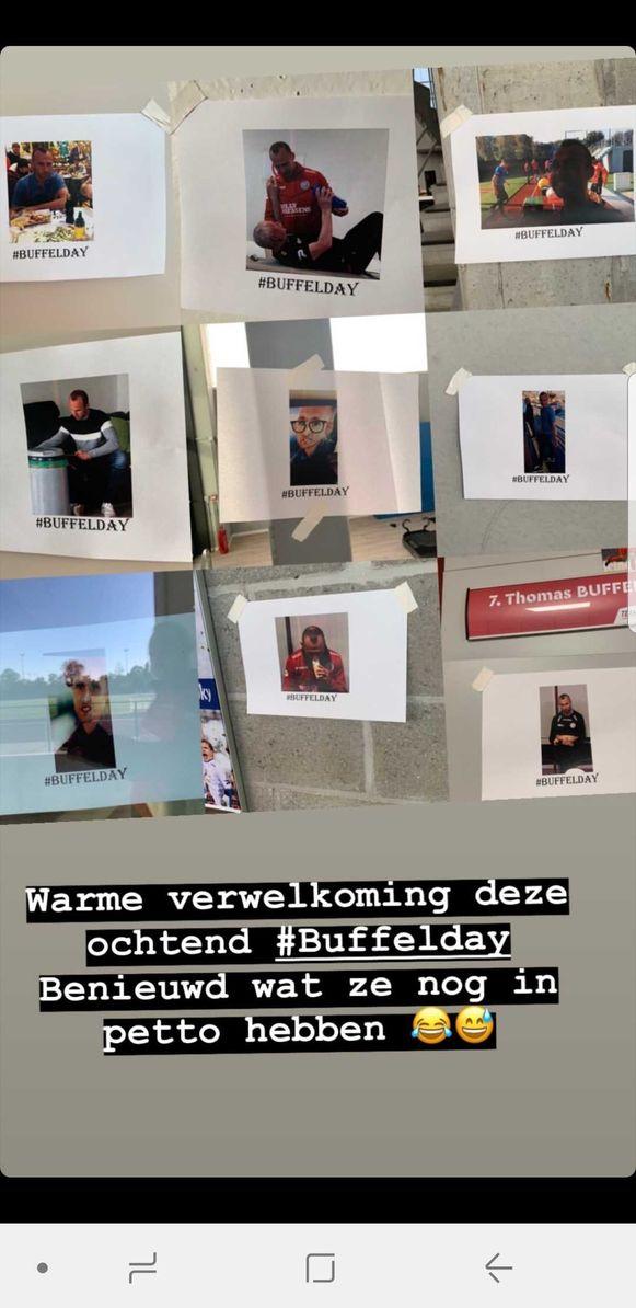 Op Zulte Waregem was het 'Buffelday' vandaag.