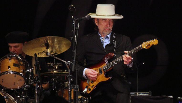 Bob Dylan: samen met Mark Knopfler naar Ahoy. Beeld epa