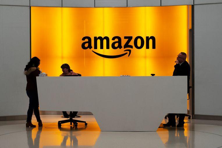 Amazon-kantoor in New York.
